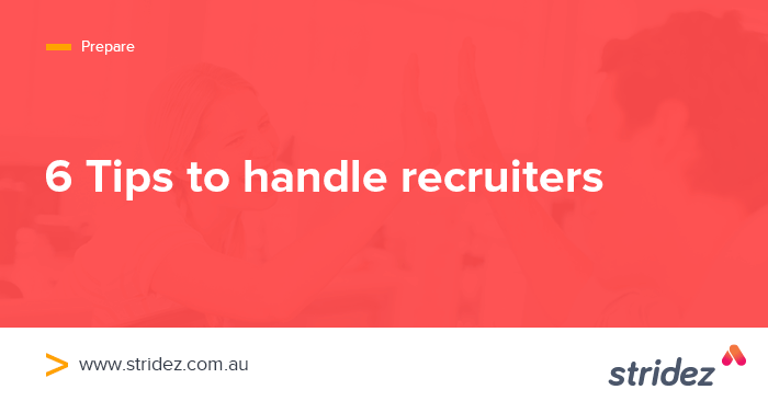6 Tips to help you Engage with Recruiters